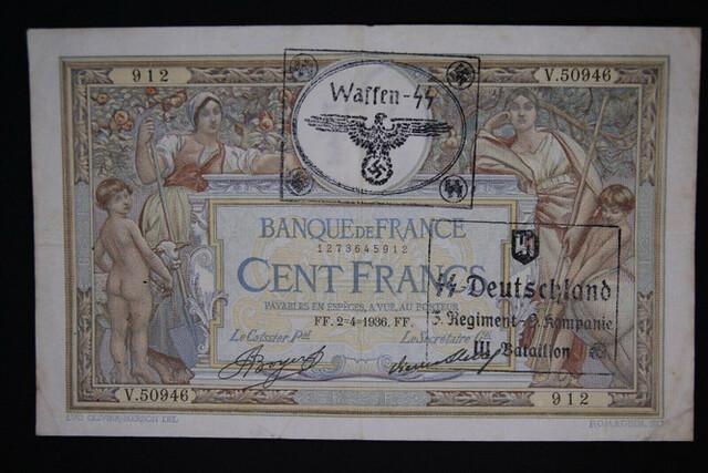 Billete Frances 1936