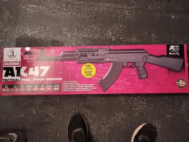 AK-47 KALASHNIKOV REPLICA OFICIAL - foto 6