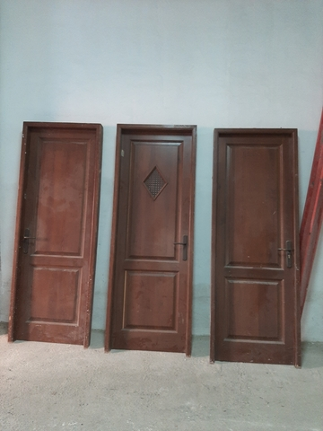 Puertas De Paso Madera Maciza