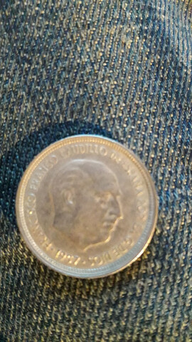 Moneda De Franco Del Año 1957