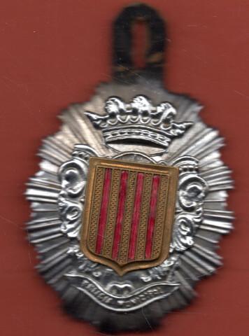 Placa De Policia Municipal De Catalunya