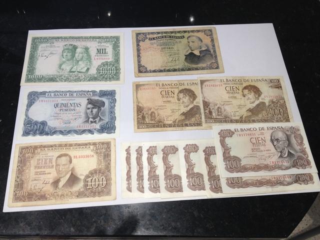 Billetes Del Banco De España Pesetas