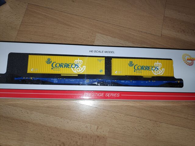 MEHANO 58877 CONTAINER RENFE H0 - foto 1