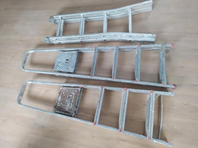 Escaleras De Aluminio 657595905