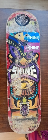 Tabla Skateboard Shine