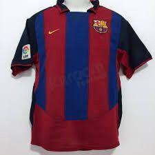 Equipación Fc Barcelona 2003-04 Coleccio