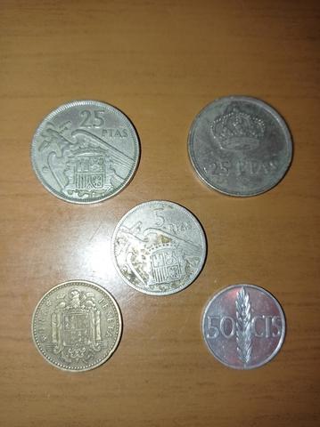 Moneda Pesetas Franco