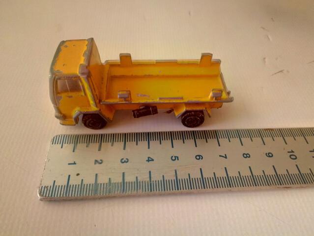 Camion Ford Amarillo Majorette Esc. 1/10