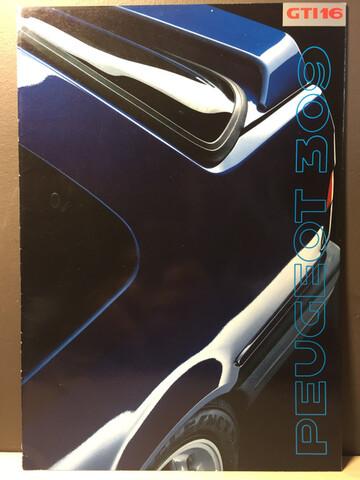 Catalogo Peugeot 309 Gti16