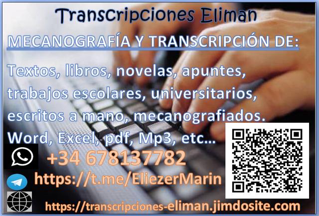 MECANÓGRAFO TRANSCRIPTOR - foto 1