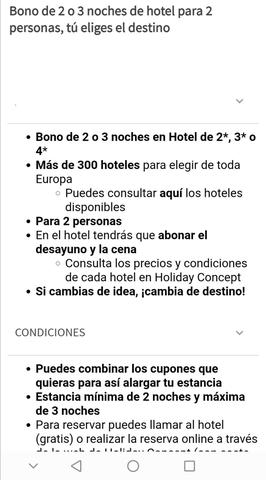 BONO DE 3 NOCHES DE HOTEL PARA 2 PERSONA - foto 1