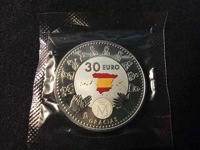 30 EUROS 2020 HOMENAJE HEROES COVID - foto 4
