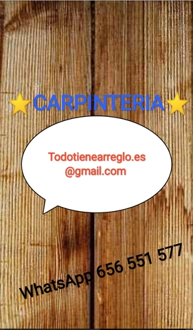 CARPINTERO EN TOMARES,  SEVILLA - foto 6