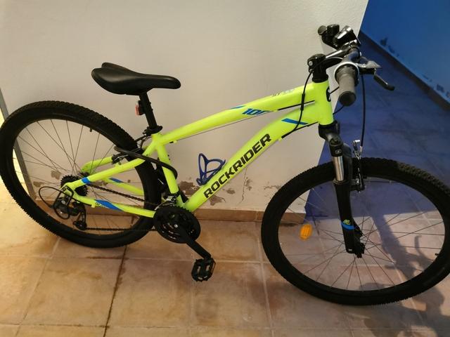 Bicicleta De Montaña Rockrider St 100