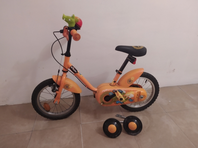 Bicicleta Con Ruedines