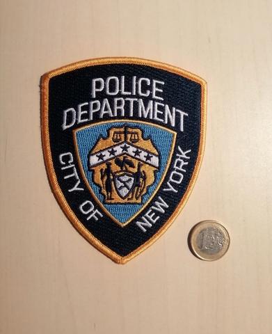 Parche Policía Nueva York