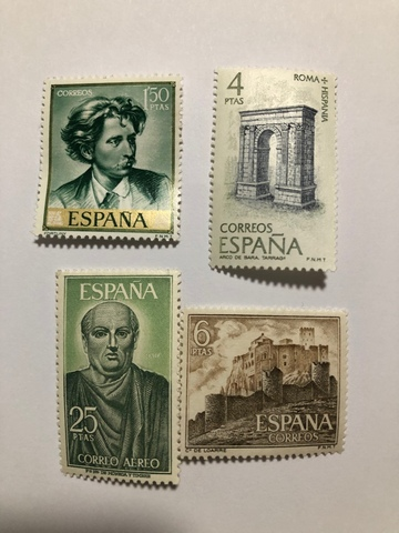 Grupo De Sellos Antiguos De  España.