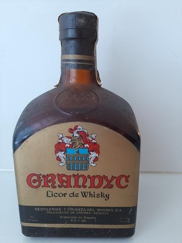 Botella Grandyc Licor Whisky