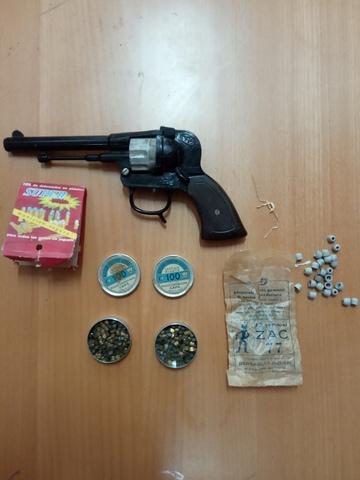 Pistola De Petardos De Juguete