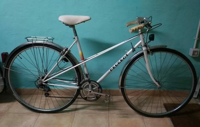 Bicicleta Vintage De Paseo Peugeot