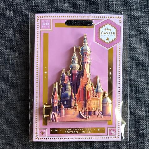 Pin Enredados, Colección Castle, Disney