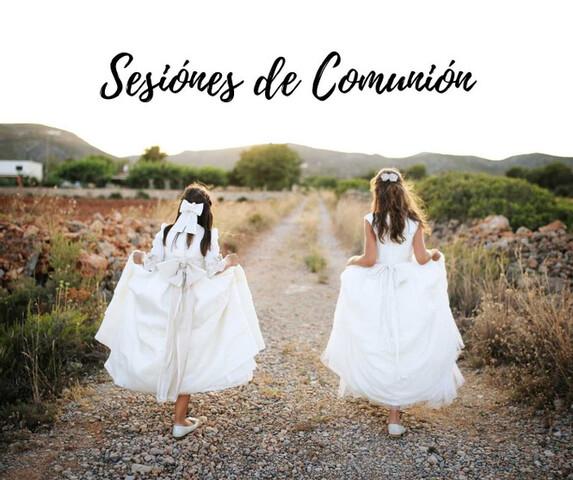 SESION FOTOGRÁFICA DE COMUNIÓN - foto 1