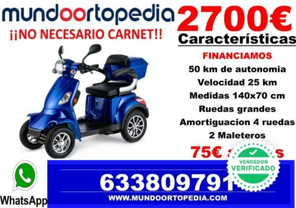 MOTO MAYORES SCOOTER ELECTRICA - foto 1