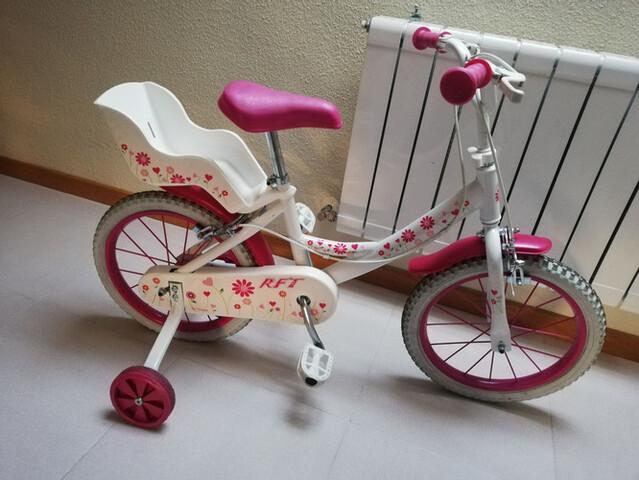 Bicicleta De Niña De 16 Pulgadas