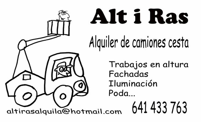 ALQUILER CAMIÓN CESTA ELEVADORA - foto 3