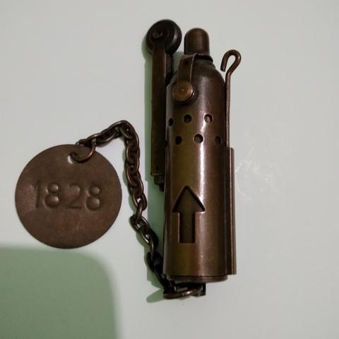 Mechero Antiguo Brass Militar 1828