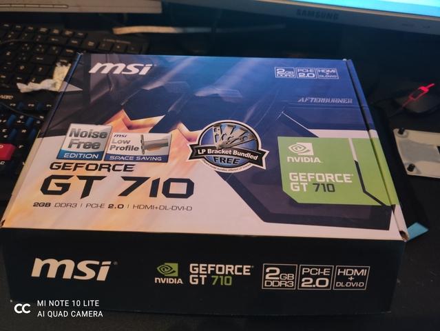 GRÁFICA NVIDIA 710 2GB - foto 2