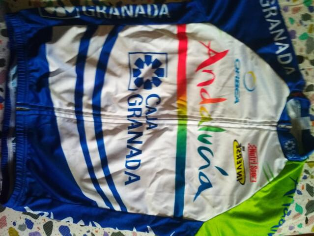 Maillot Ciclista Andalucia