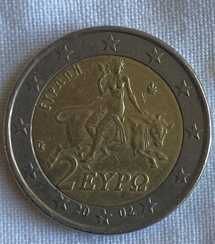 Moneda 2 Euros Grecia