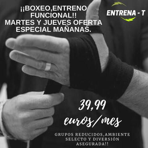 BOXEO RECREATIVO OFERTA MAÑANAS - foto 1