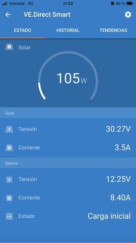 Regulador Solar Vitron Energy 100/50