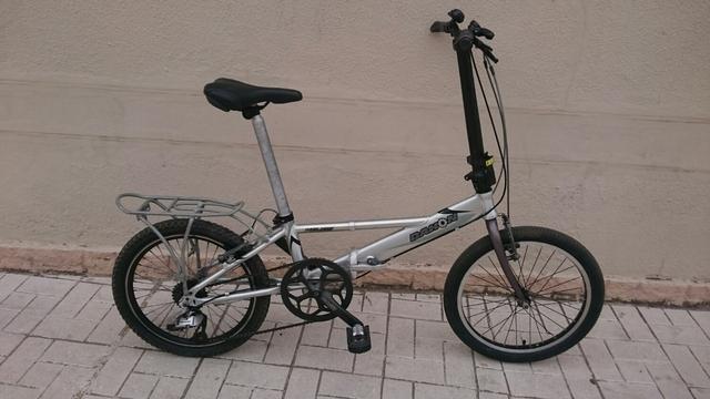 Bicicleta Plegable Adulto De Alumino