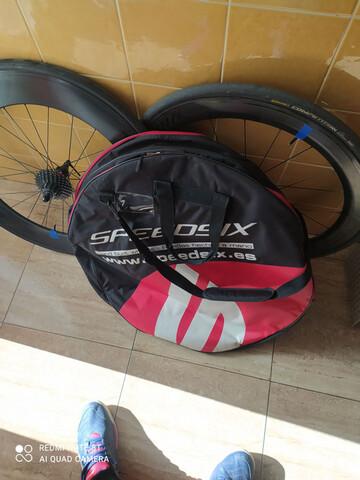 Ruedas De Carbono Speedsix Tri Efficienc