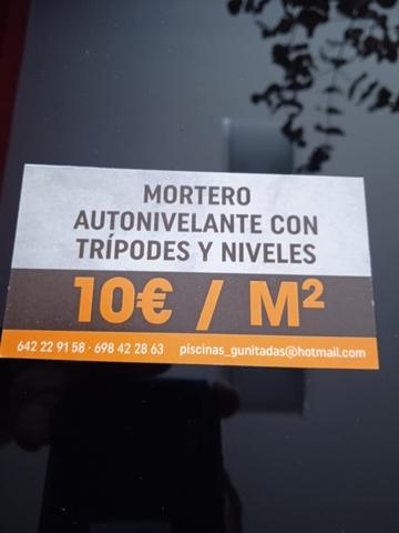 SUELOS DE MORTERO AUTONIVELANTE - foto 1