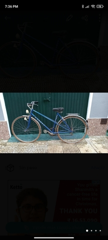 Bicicleta Orbea Luarca Vintage