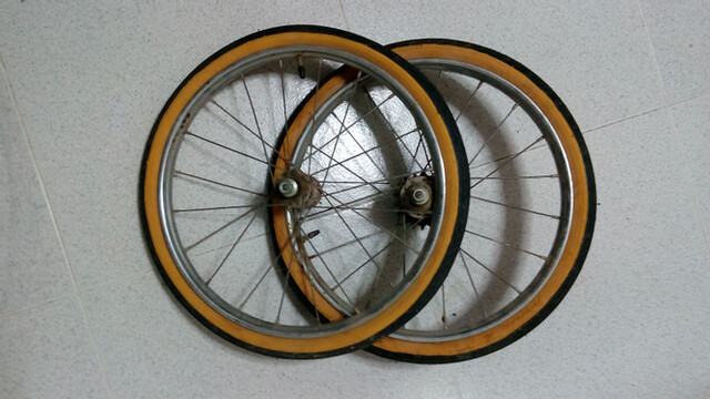 Ruedas De Bicicleta De Varillas Niño