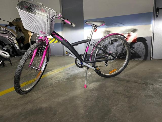 "Bicicleta 24"" Btweem  Con Cesta"