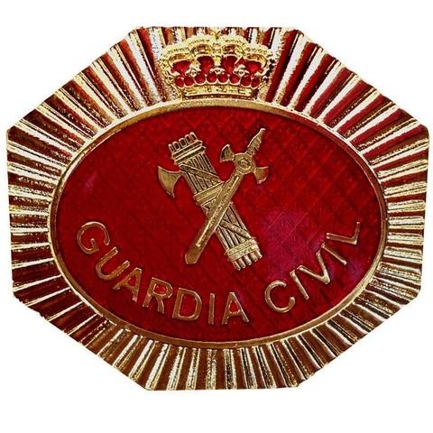 Placa Guardia Civil Judicial