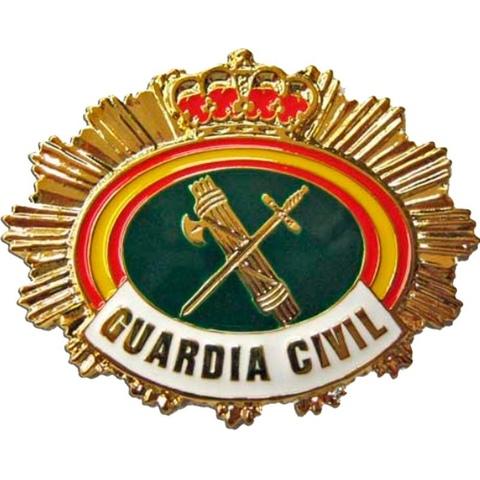 Placa Guardia Civil Rural