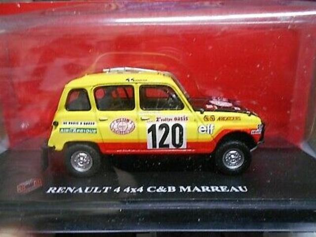 Renault 4 Dakar 1/43 Ixo