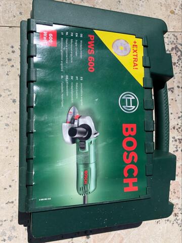Amoladora Angular Bosch