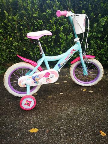 """Bicicleta Shimmer And Shine 14"""""""