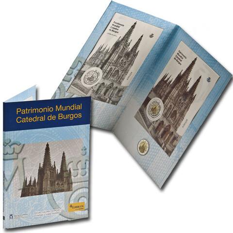 2€ 2012 - Catedral De Burgos Filatelia