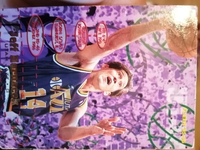 VENDO LOTE CROMOS NBA 1995 COLECCIÓN FLE - foto 3
