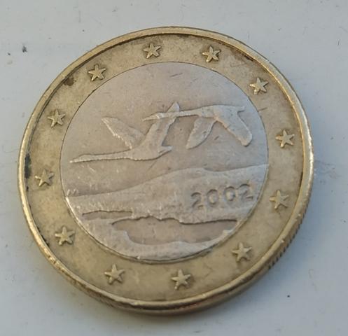 Moneda De 1 Euro Finlandia