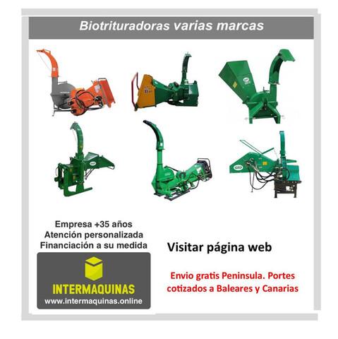BIOTRITURADORAS TRACTOR VARIOS MODELOS - foto 1